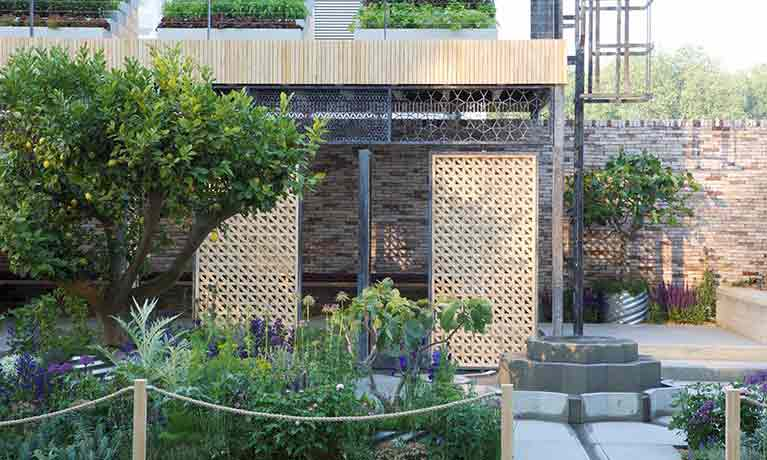 Chelsea Flower Show 'refugee camp' garden linked to university project