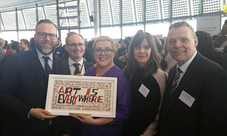 Barking and Dagenham secure Mayor's Cultural Impact Award