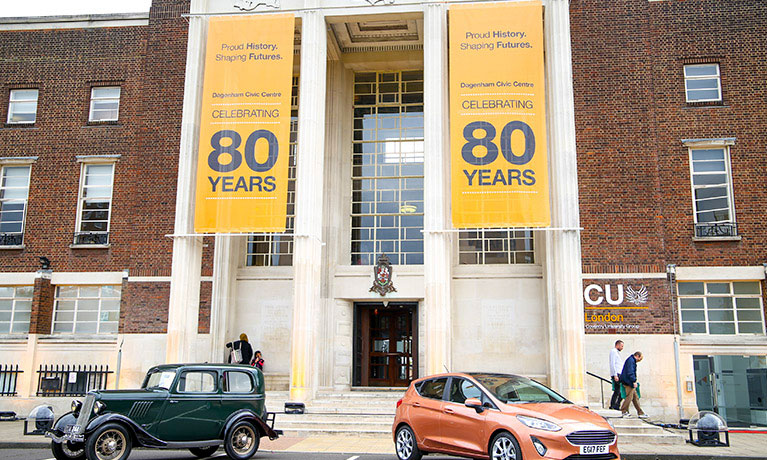 CU London to celebrate launch as campus building marks 80th anniversary