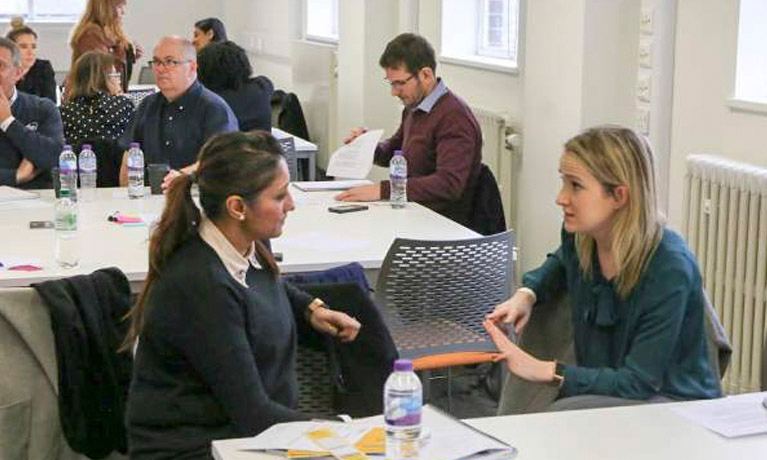 Small and medium sized businesses discover new ways of working at CU London event