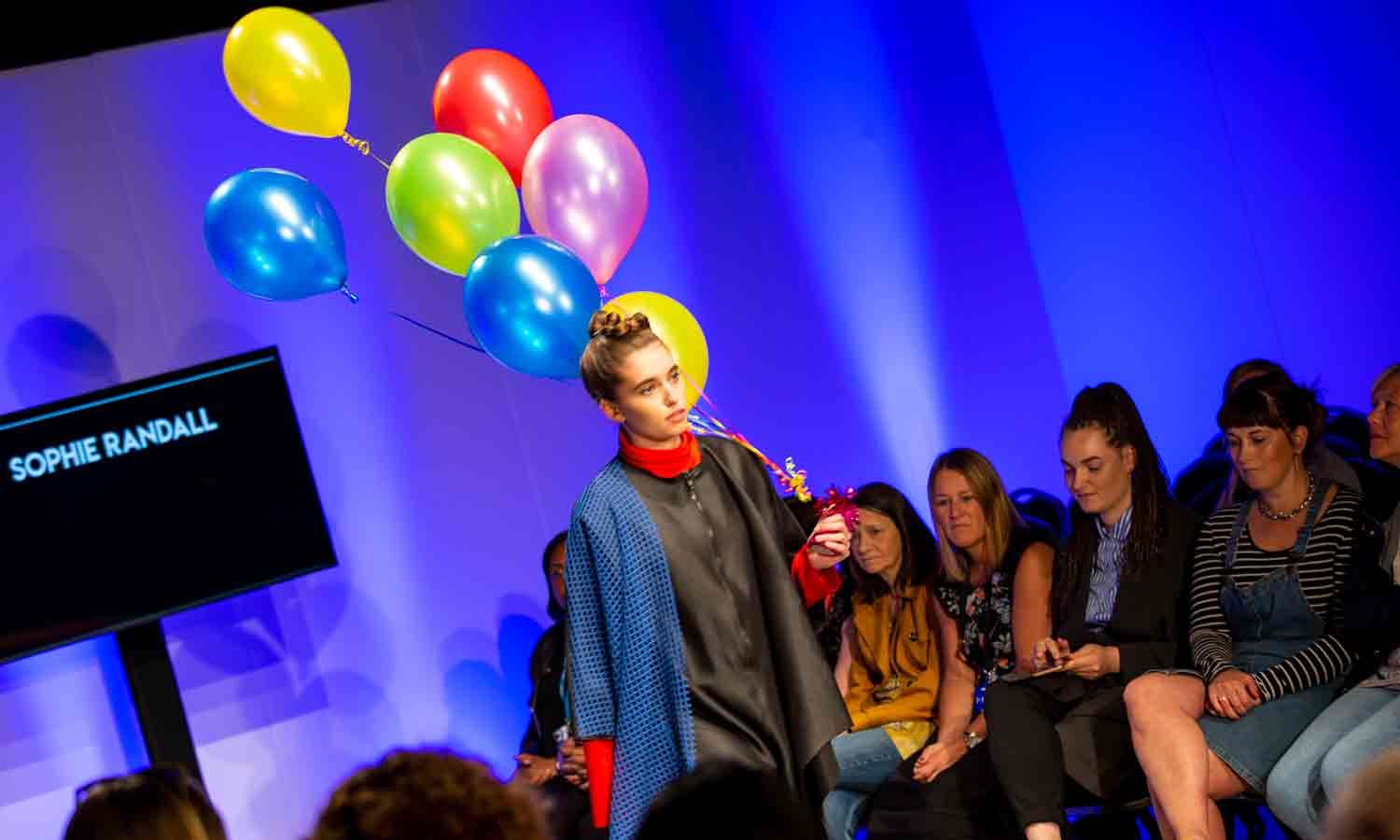 Fashion students' designs wow audience at sell-out catwalk show