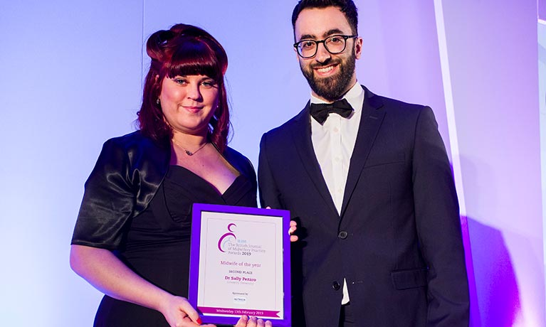 Coventry midwife is named runner-up after helping hundreds of women access care