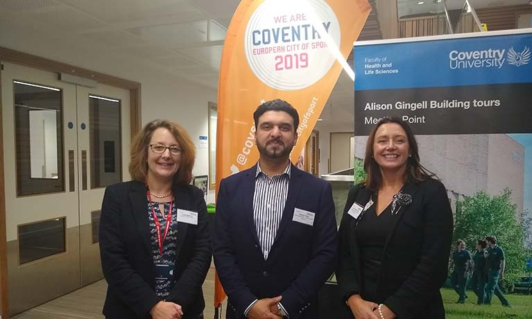 Coventry University set to become centre of sports and wellbeing with launch of Future Health