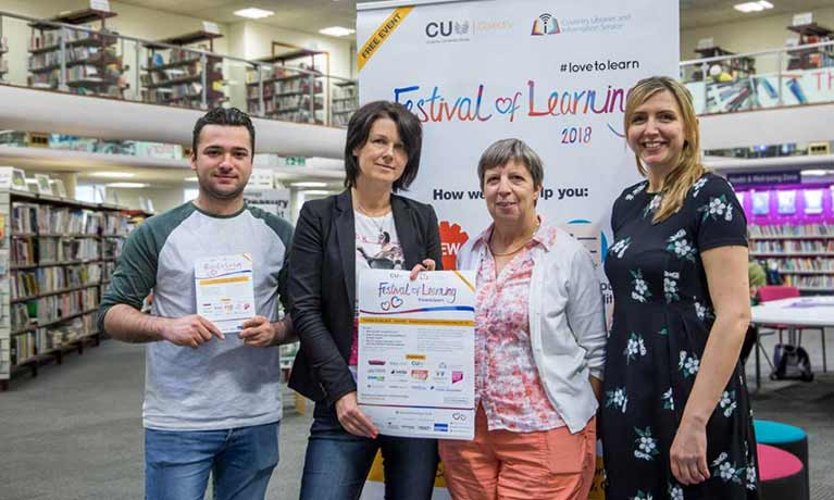 CU Coventry to attend Festival of Learning to help adults improve their employability