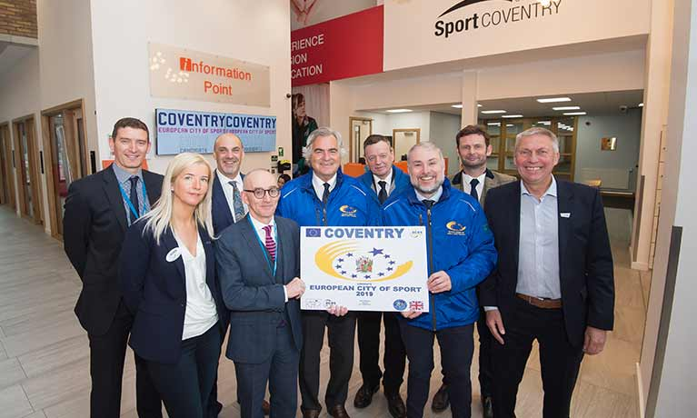 Coventry wins European City of Sport title for 2019