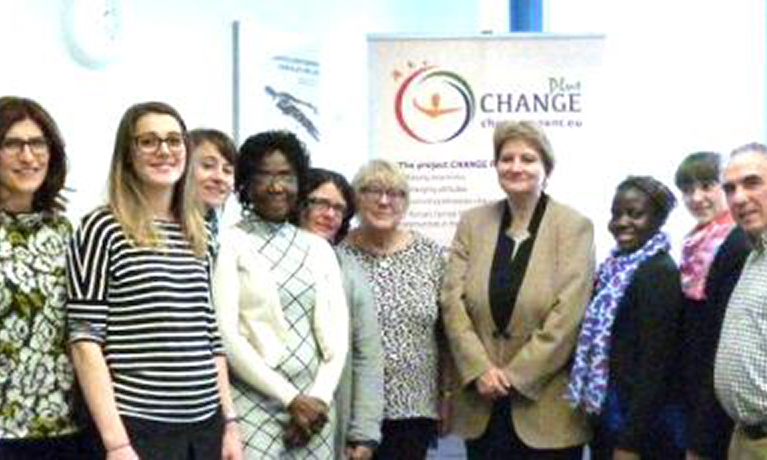 Prof. Hazel Barrett represents Coventry University at Change Plus Kickoff Meeting in Berlin