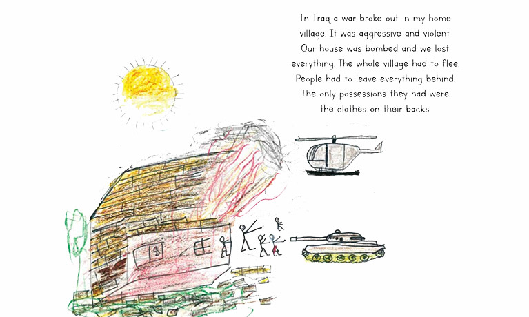 Picture book project is first of its kind to explore experiences of refugee children
