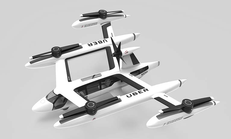Coventry University helps Uber develop flying taxis