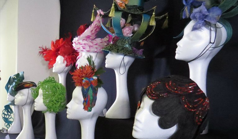 Milliner Artisan Hat Exhibition