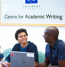 Academic Writing Support - signpost image