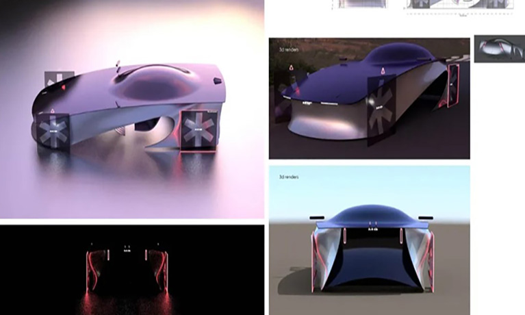 Automotive Design Challenge Success for Students