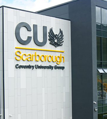 CU Scarborough - signpost image