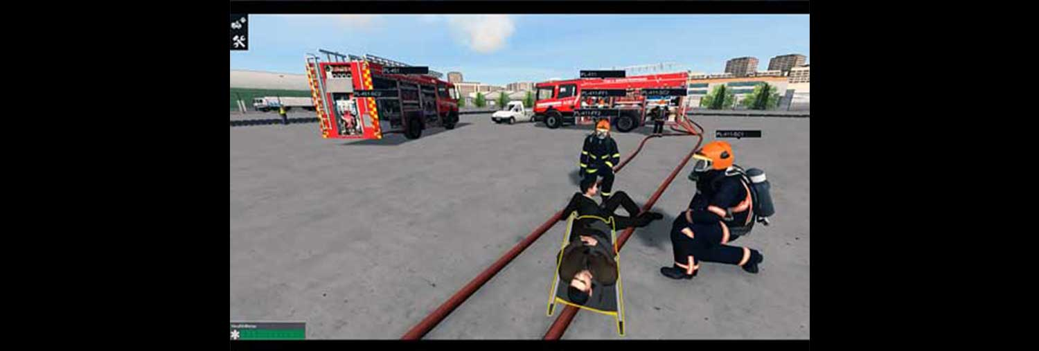 Disaster training simulator for Singapore - signpost image
