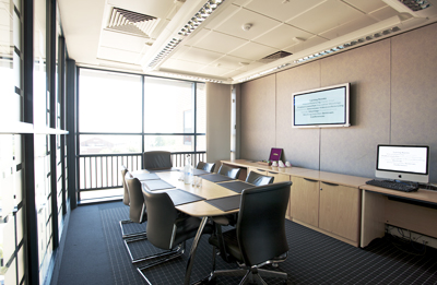Virtual conferencing facilities