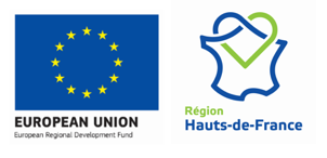 European Regional Development Fund plus Region Hauts-de-France