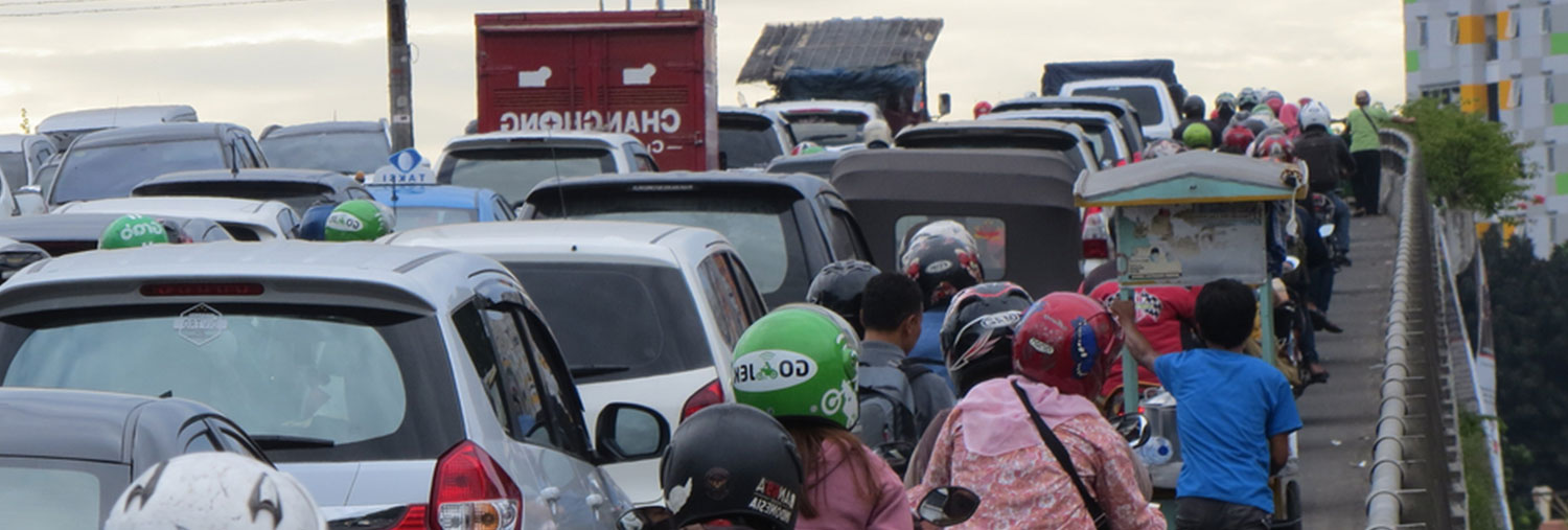 Traffic Decongestant in Indonesia's capital