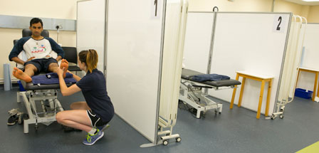 Sports Therapy Clinic - signpost image