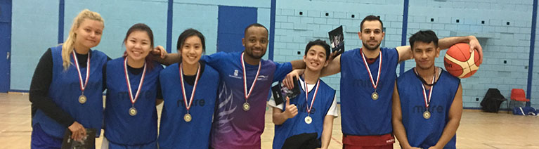 Coventry University Active team players