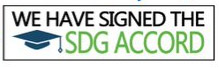 We have signed to SDG Accord Logo
