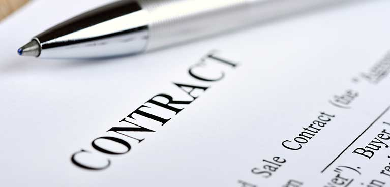 Contract regulations