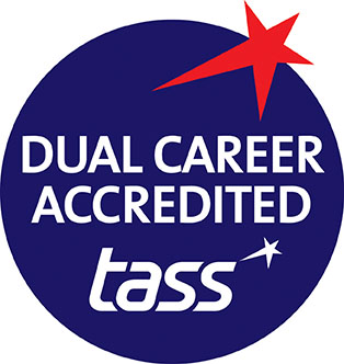 TASS Dual Career Accredited logo