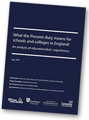 Prevent Report Front Cover
