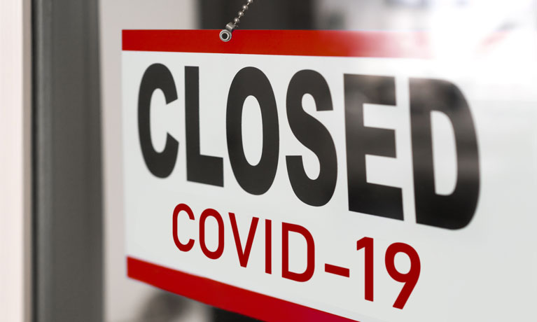 closed for COVID19