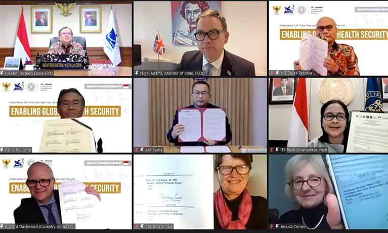 UK-Indonesian research consortium unite to address global challenges