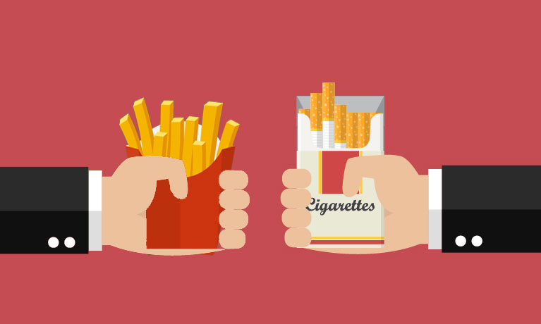 Research shows it is possible to stop smoking and simultaneously lose weight
