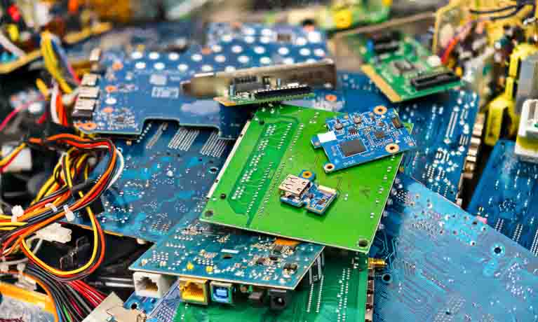 E-waste: printed circuit boards