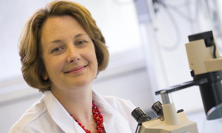 Helen Maddock in InoCardia lab