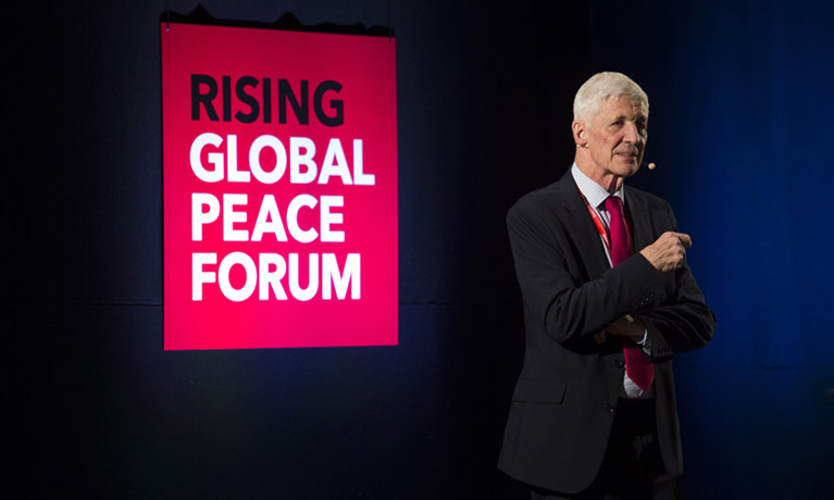 RISING Global Peace Forum attracts stellar line-up