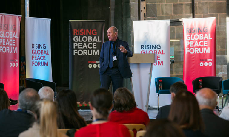 Coventry's RISING Global Peace Forum goes virtual as a result of the latest COVID-19 lockdown