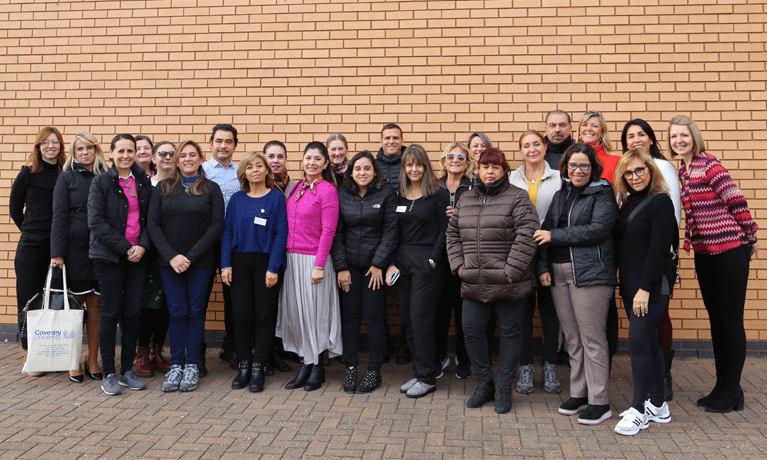 Group photo of ENTENDER project partners