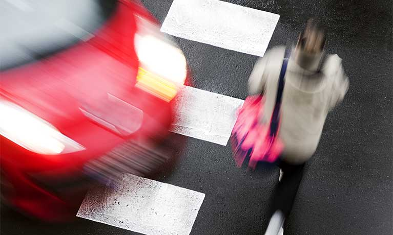 Female Pedestrian
