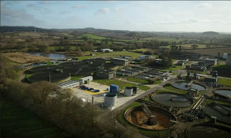 Severn Trent water treatment facility