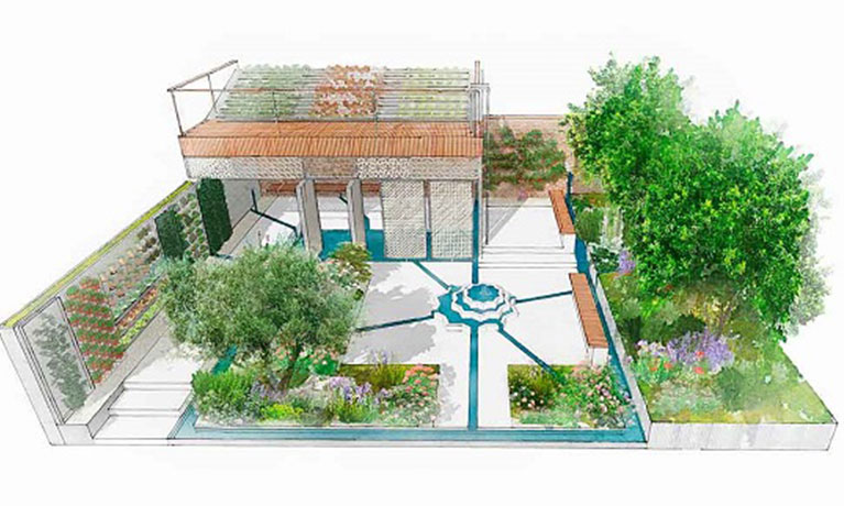 Chelsea Flower Show boost for refugee camp gardens project
