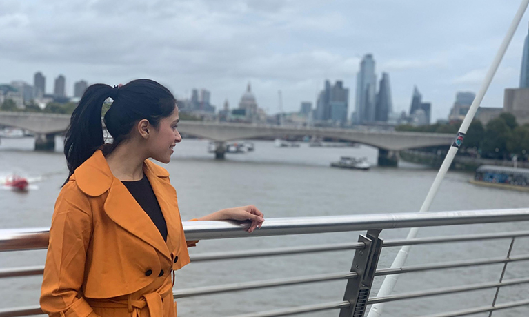 Moving to London from India