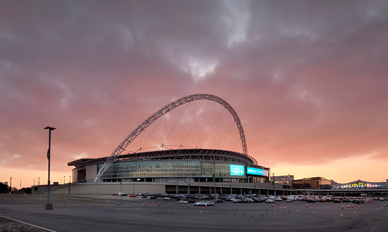Wembley Stadium, where Natalia worked