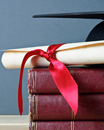 International Scholarships - signpost image