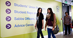 Student Services - signpost image