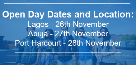REGISTER NOW TO ATTEND AN OPEN DAY IN NIGERIA - signpost image