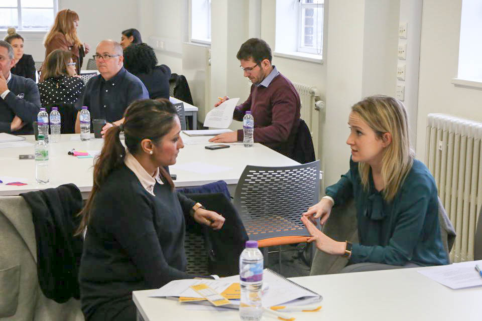 Small and medium sized businesses discover new ways of working at CU London event - signpost image