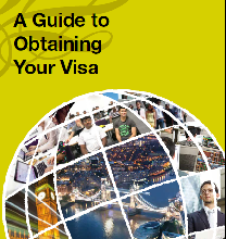 Obtaining your visa - signpost image