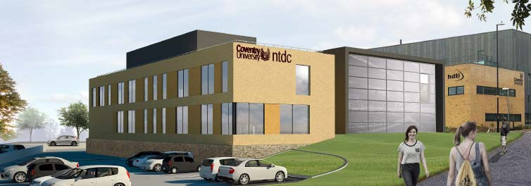 Multimillion pound design centre to bolster uk inn for Coventry federal plans