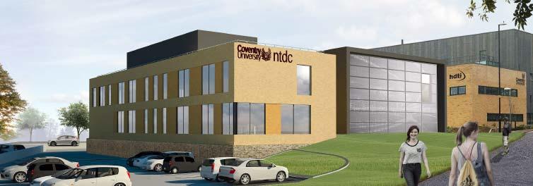 Multimillion pound design centre to bolster uk inn for Coventry federal plans