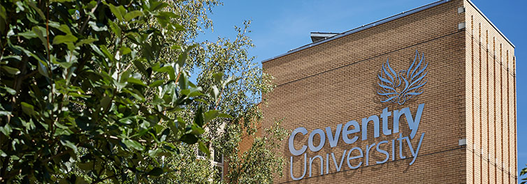 Coventry university regains top new university spo for Coventry federal plans