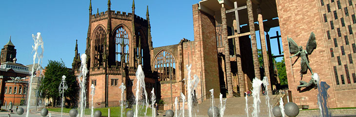 Cathedral - Coventry New and Old