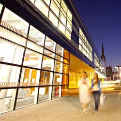 The Hub social building at Coventry University