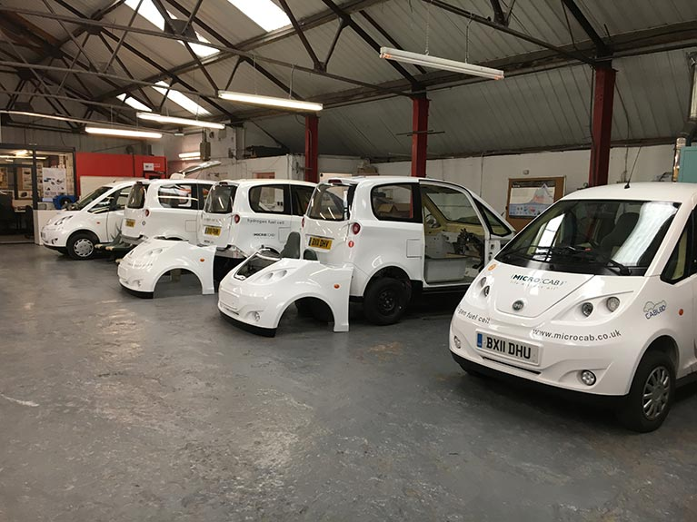 Microcab vehicles